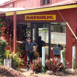 Joe founder of Maui Babe