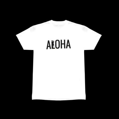 Men's-ALOHA-T-Shirt-White