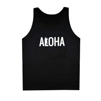 Men's-ALOHA-Tank-Top-Black