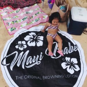 The youngest member of Maui Babe.