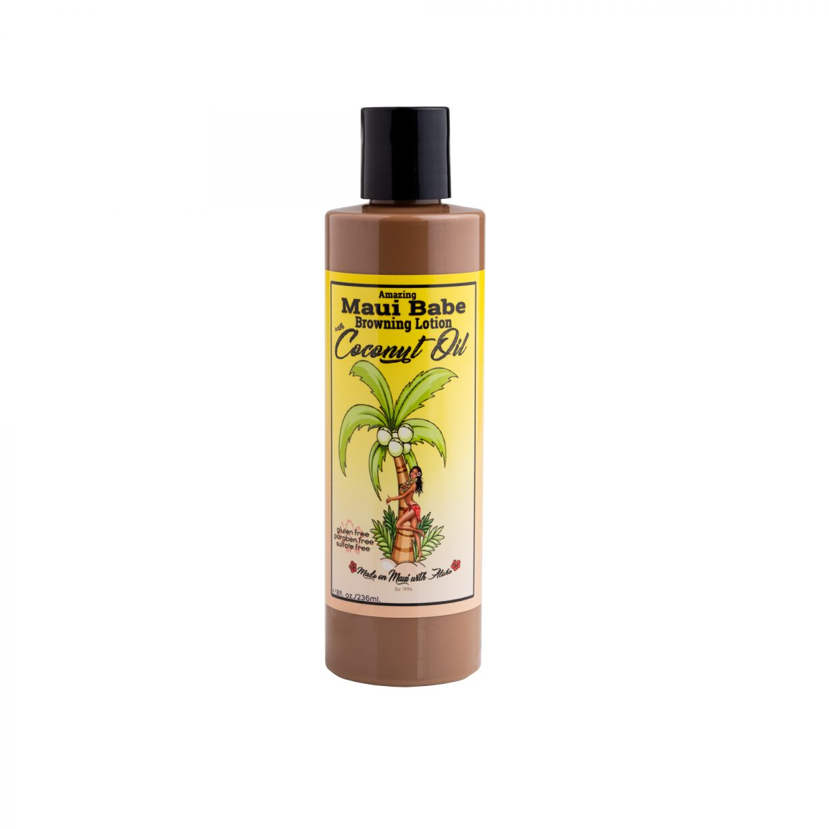 8oz Browning Lotion with Coconut Oil