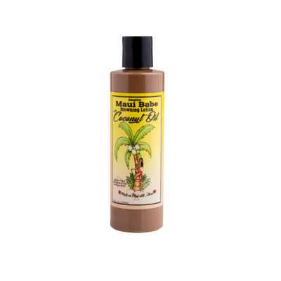 browning lotion with coconut oil