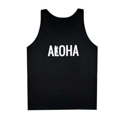 Men's ALOHA Tank Top (Black)