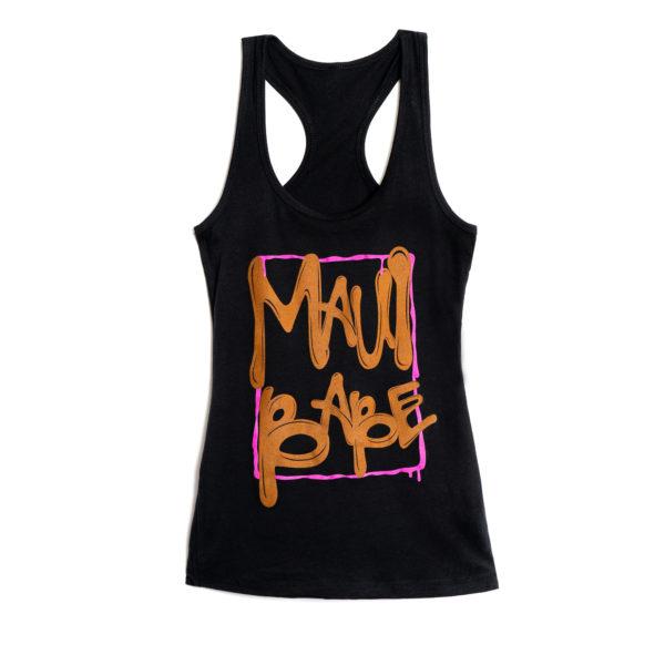 Women's Maui Babe DRIP Tank Top (Black)