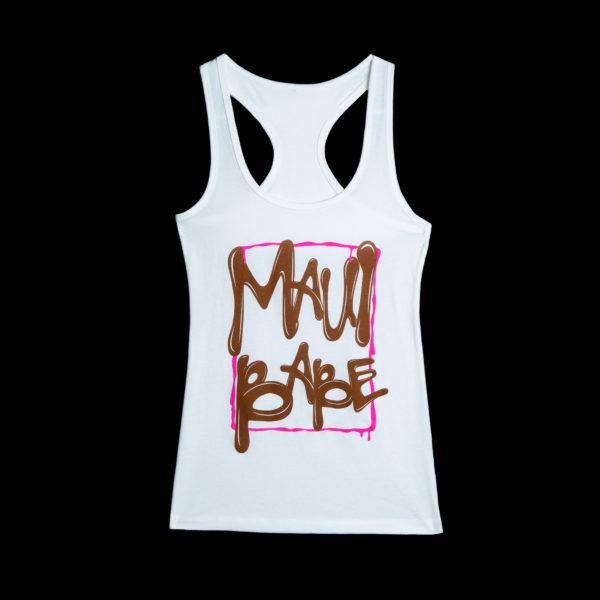 Women's Maui Babe DRIP Tank Top (White)