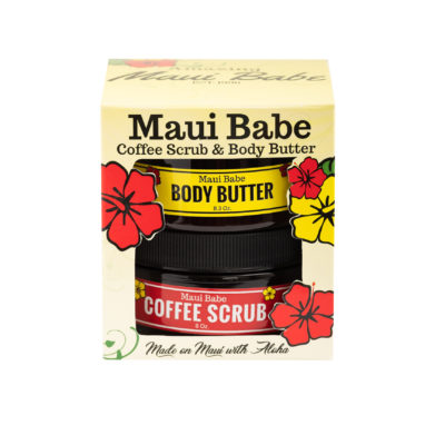 Coffee Scrub & Body Butter Gift Set