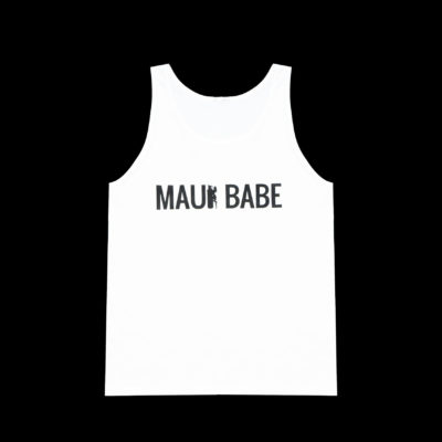 Men's MAUI BABE Tank Top (White)