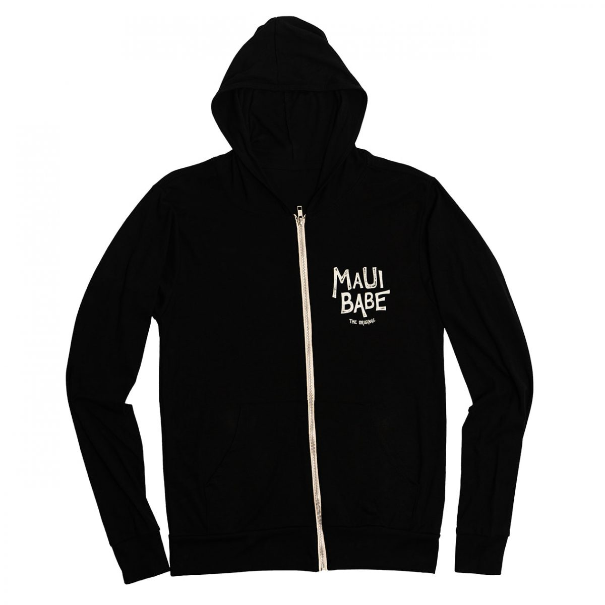 Maui Babe Hoodie Front